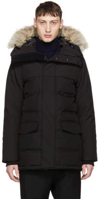 Canada Goose Black Down 'Black Label' Clarence Parka