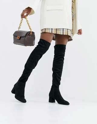 Stradivarius knee high boot