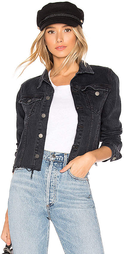 Cara Fitted Cropped Jacket.