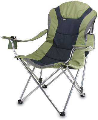 Picnic Time Sage Green Reclining Camp Chair
