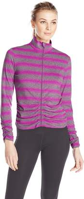 Calvin Klein Women's Ruched Fitness Jacket