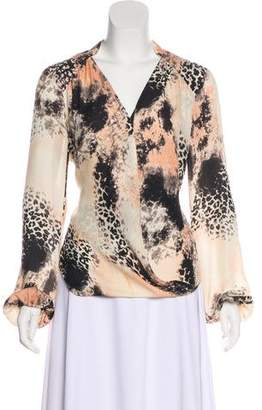 Chelsea Flower Silk Printed Blouse