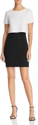 Aqua Color Block Popover Dress - 100% Exclusive