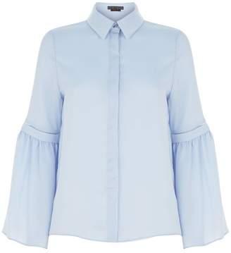 Alice + Olivia Bolton Bell Sleeve Shirt