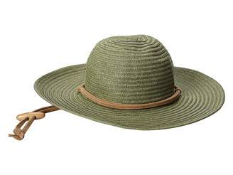 San Diego Hat Company PBL3016 Large Brim Chin Cord Paper Braid Floppy
