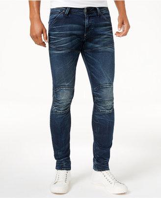 G-Star Raw Men's 5620 3D Slim-Fit Jeans $180 thestylecure.com