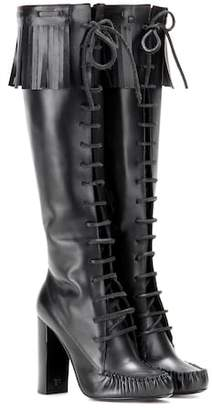 Tom Ford Santa Fe leather knee boots