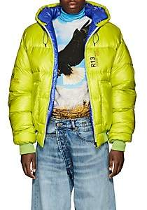 R 13 Women's Down Crop Puffer Jacket - Bt. Green