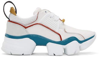Givenchy White Jaw Low Sneakers