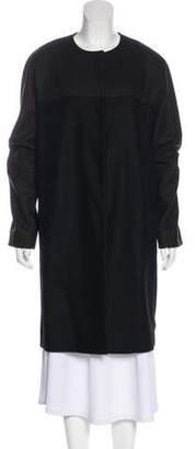 Etro Wool Knee-Length Coat