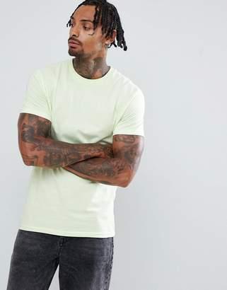 Weekday Alan T-Shirt Lime