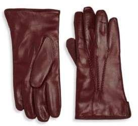 Saks Fifth Avenue Men's COLLECTION Leather Gloves - Black - Size Small