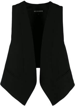 Ann Demeulemeester open front waistcoat