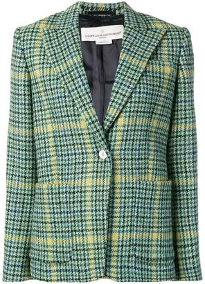 Golden Goose checked blazer
