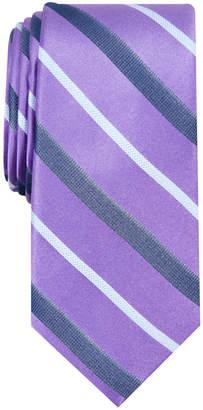 Nautica Men Connors Stripe Slim Silk Tie