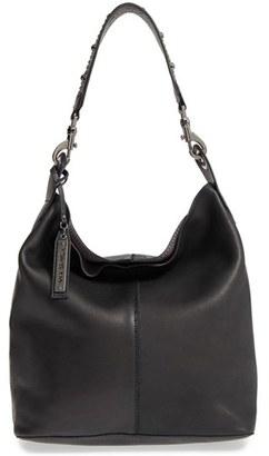 Via Spiga 'Alicia' Leather Hobo with Studded Strap $368 thestylecure.com