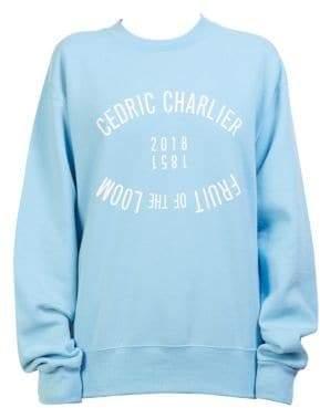 Cédric Charlier Graphic Sweatshirt