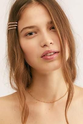 Delicate Everyday Rhinestone Necklace