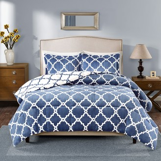 True North By Sleep Philosophy True North by Sleep Philosophy Alston Reversible Plush Comforter Set