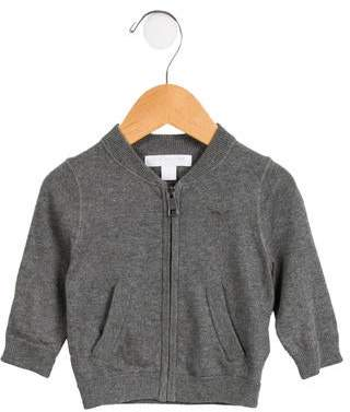 Burberry Boys' Knit Zip-Up Sweater