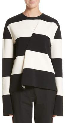 Calvin Klein Folded Stripe Sweater