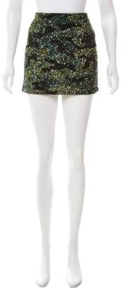 Alice + Olivia Sequined Mini Skirt