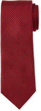 Neiman Marcus Textured Solid Silk Tie