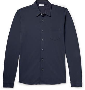 Sunspel Pima Cotton-Piqué Shirt