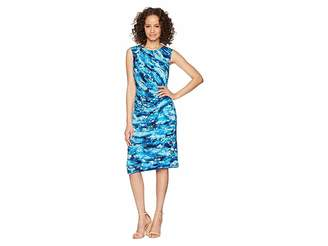 Nic+Zoe Petal Splash Twist Dress
