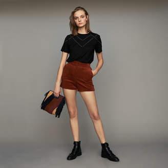Maje Corduroy shorts