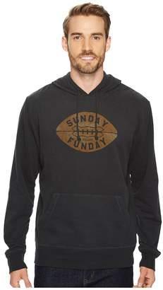 Life is Good Sunday Funday Football Go-To Hoodie Men's Sweatshirt