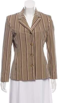Loro Piana Velvet Striped Blazer