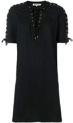 McQ lace-up detail dress