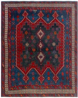 Noori Rug Semi-Antique Cocasian Ghamzeh Hand-Knotted Wool Persian Rug