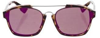 Christian Dior Abstract Tortoiseshell Sunglasses