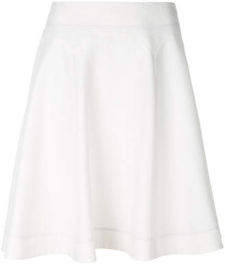at Farfetch Paul Smith textured A-line skirt