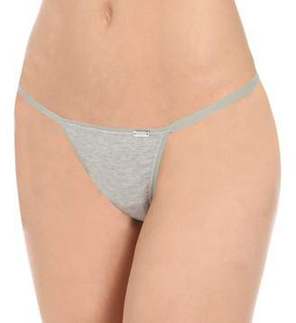 La Perla Women's Thong Underwear Lingerie New Project Thong G String (Large/4, Grey)