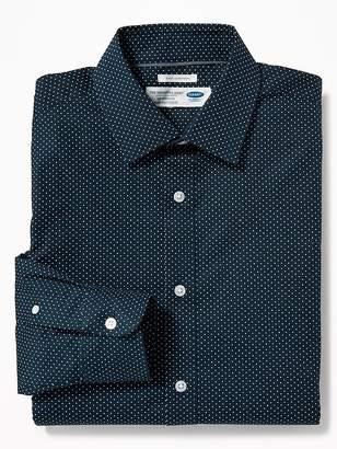 Old Navy Regular-Fit Built-In Flex Signature Non-Iron Shirt For Men