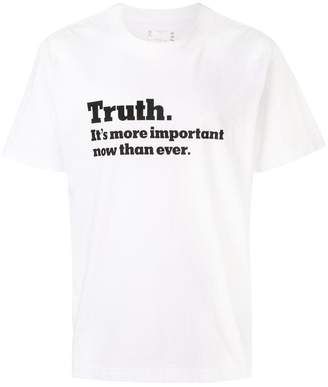 Sacai Truth T-shirt