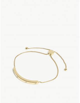 Kate Spade Stone-embellished slider bracelet