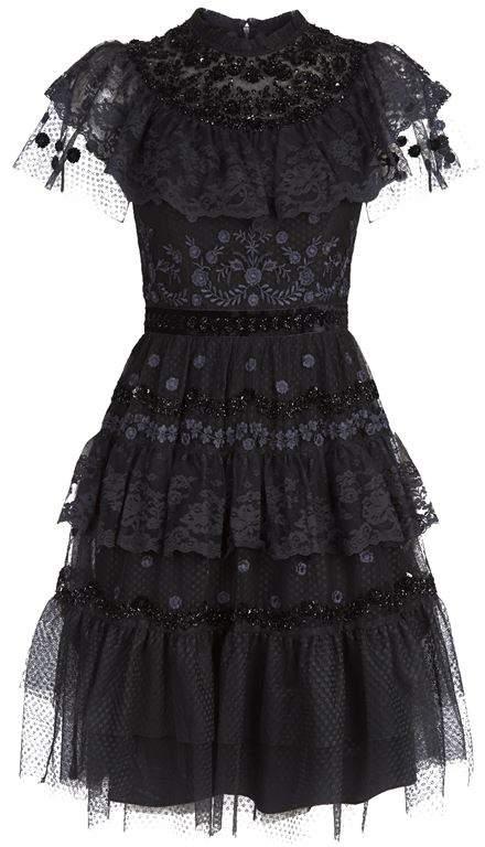 Cinderella Tiered Lace Dress
