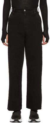 MM6 MAISON MARGIELA Black Pilling One Button Jeans