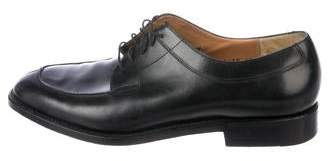 Salvatore Ferragamo Leather Derby Shoes