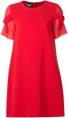 Moschino tied sleeve mini dress