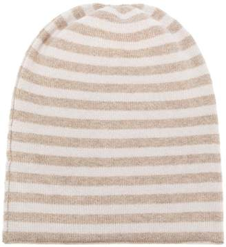 Danielapi horizontal striped beanie