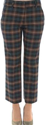 True Royal Checked Trousers