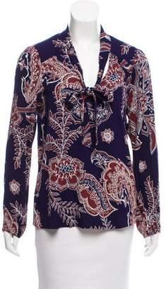 Ella Moss Printed Long Sleeve Top