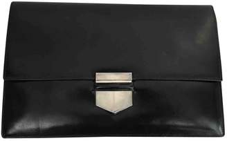 Hermes Faco leather clutch bag