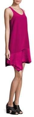 3.1 Phillip Lim Asymmetrical Silk Shift Dress