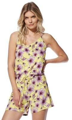 Jacqueline De Yong JDY Floral Print Strappy Playsuit 8